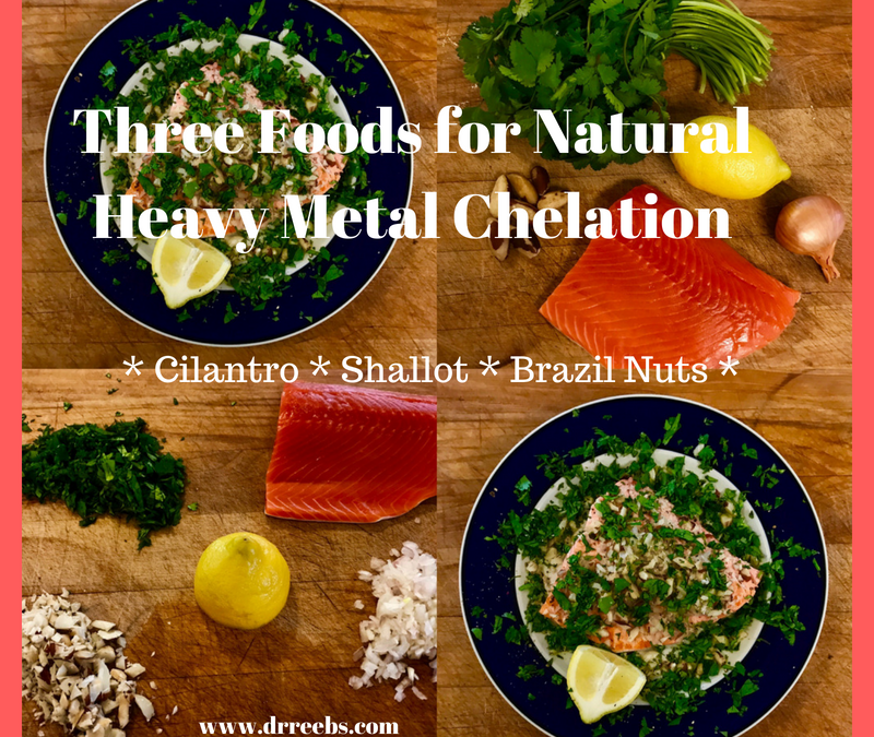 Three Foods for Natural Heavy Metal Chelation