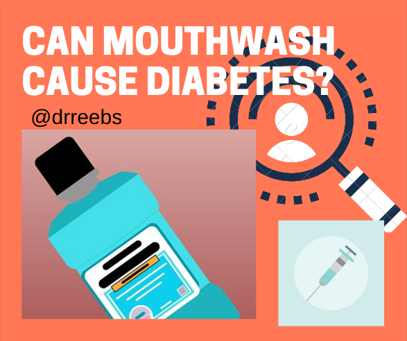 Can Mouthwash Cause Diabetes?